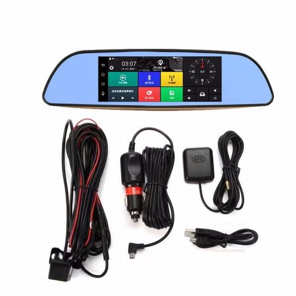 Камера за кола с Android, GPS навигация, Wi Fi и 3G тип огледало AC23 7