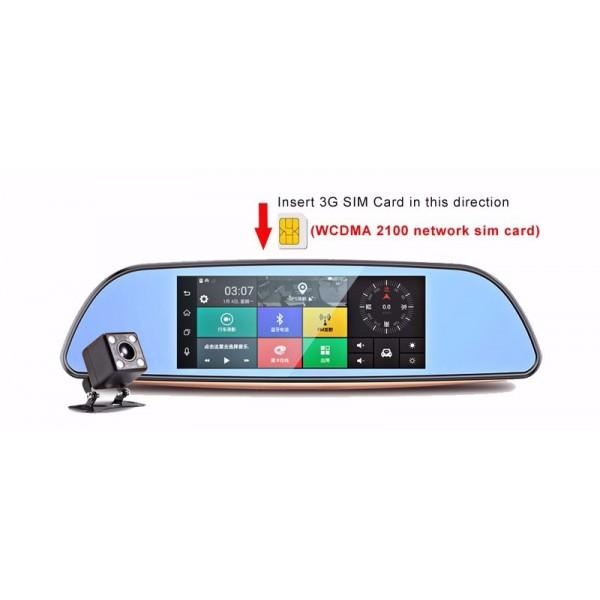 Камера за кола с Android, GPS навигация, Wi Fi и 3G тип огледало AC23 2