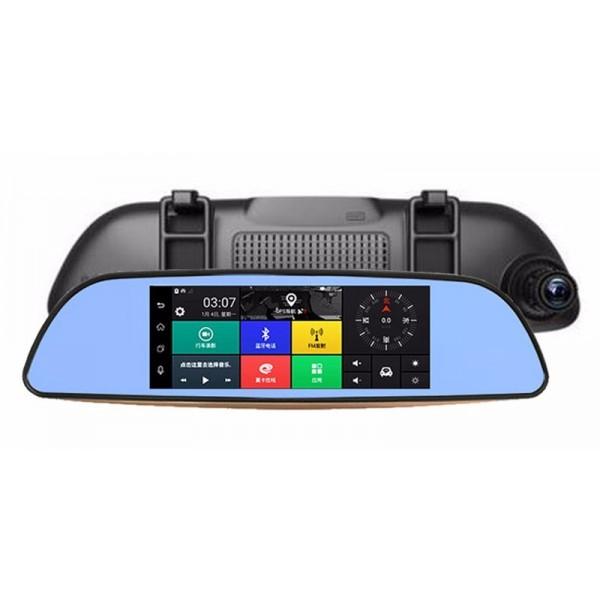 Камера за кола с Android, GPS навигация, Wi Fi и 3G тип огледало AC23 1