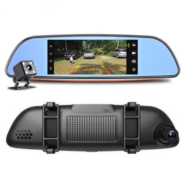 Камера за кола с Android, GPS навигация, Wi Fi и 3G тип огледало AC23 6