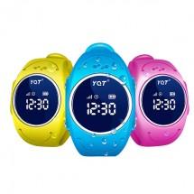 Водоустойчив детски смарт часовник YQT Q520S за Andrioid и IOS с GPS и SOS бутон