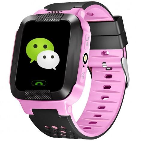 Водоустойчив GPS часовник -Детски -SOS повикване -Micro SIM за Andrioid и IOS,Y21