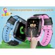 Водоустойчив GPS часовник -Детски -SOS повикване -Micro SIM за Andrioid и IOS,Y21 3