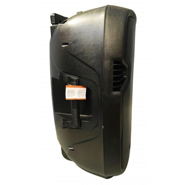 Bluetooth Караоке тонколона 15 инча 150W с микрофон FM LCD SD/MMC карта VKK15 3