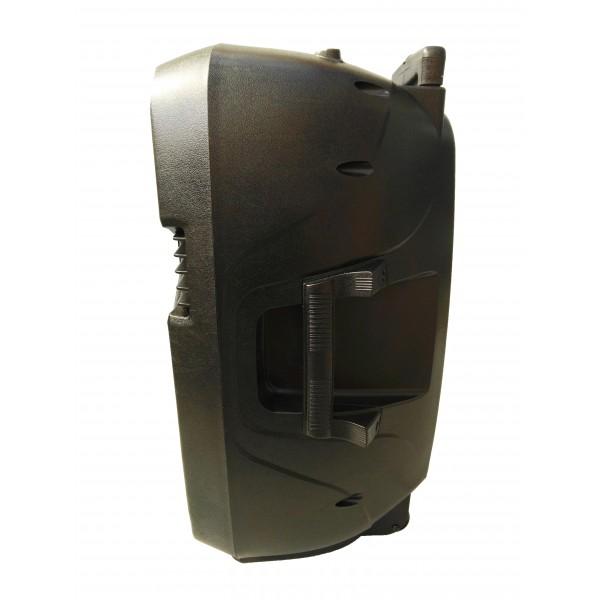 Bluetooth Караоке тонколона 15 инча 150W с микрофон FM LCD SD/MMC карта VKK15 6