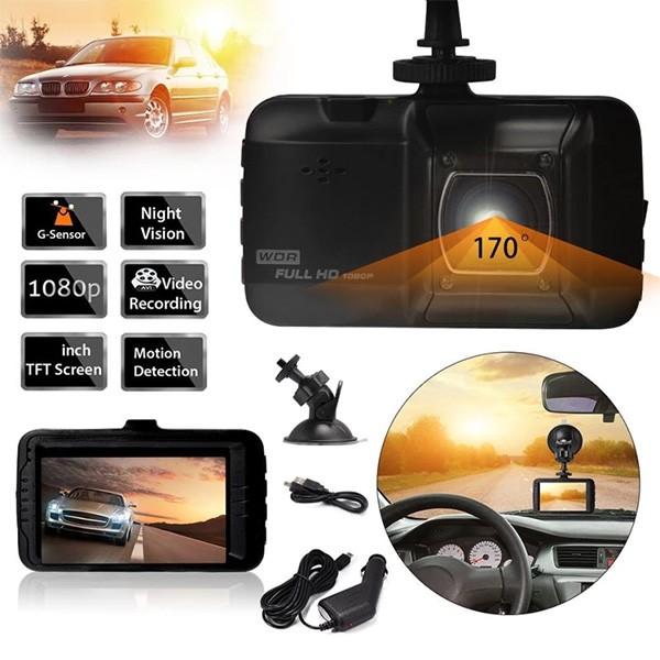 HD камера за автомобил с LCD дисплей AC49 3
