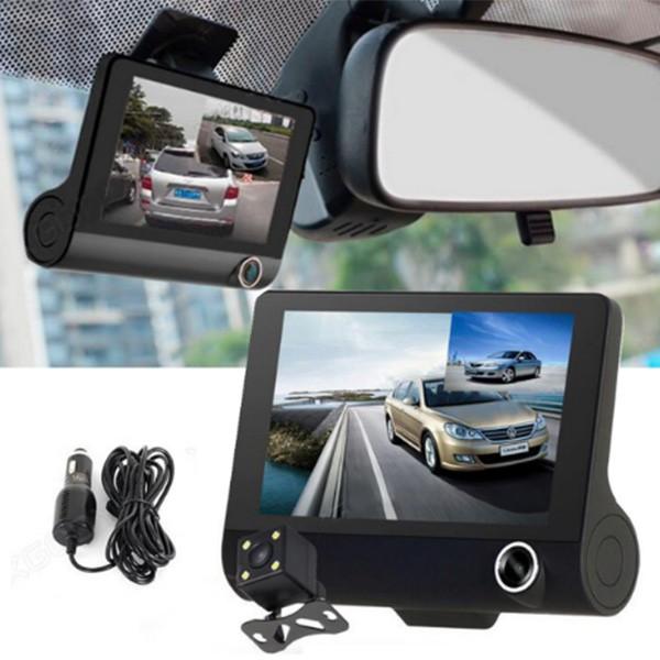 Видеорегистратор Full HD 1080P с 3 камери, дисплей 4 инча и нощен HDR запис AC50 7