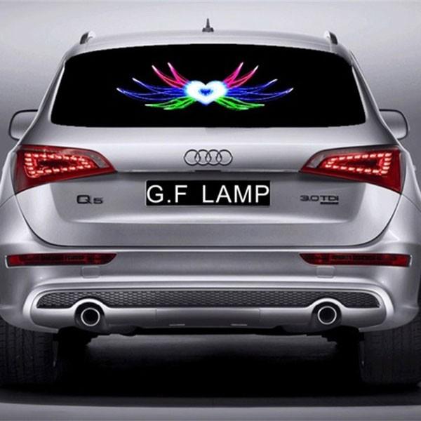 LED стикер Audi 1