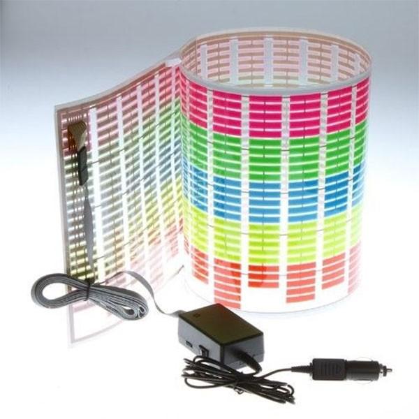 LED стикер за кола 60 х 20 см