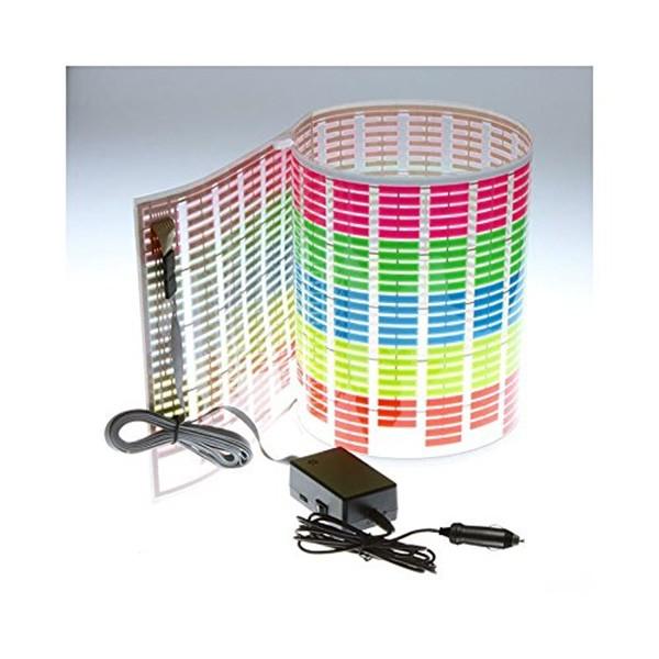 LED стикер еквалайзер за кола 90 х 25 см 1