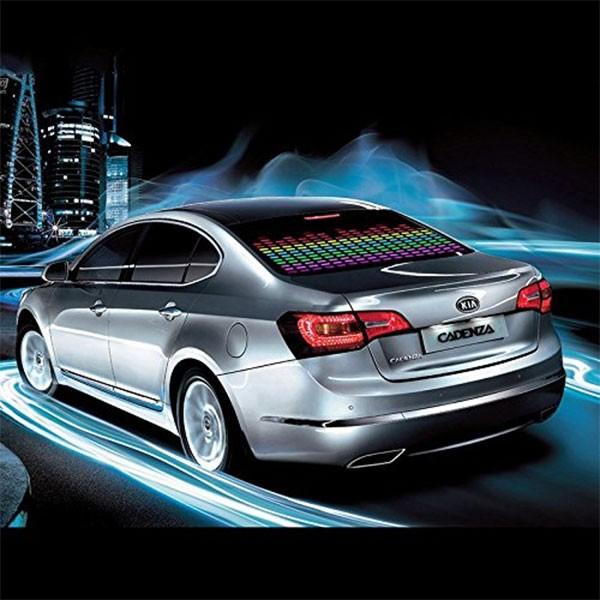 LED стикер еквалайзер за кола 90 х 25 см 3