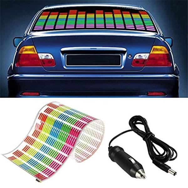 LED стикер еквалайзер за кола 90 х 25 см