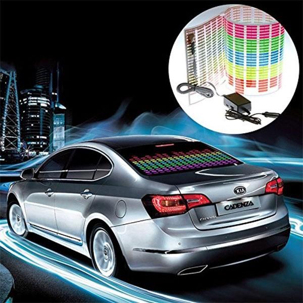 LED стикер еквалайзер за кола 90 х 25 см 5