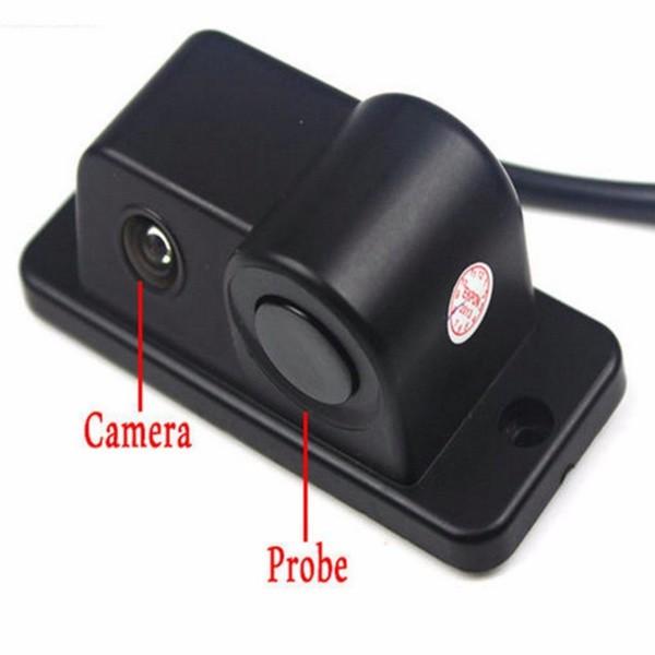 Камера за заден ход с радар и паркинг сензор, 4,3 инча монитор, нощно виждане PK5 2