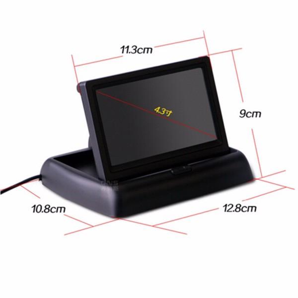 Камера за заден ход с радар и паркинг сензор, 4,3 инча монитор, нощно виждане PK5 6