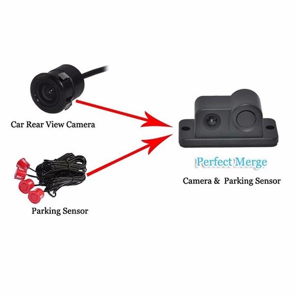 Камера за заден ход с радар и паркинг сензор, 4,3 инча монитор, нощно виждане PK5 9