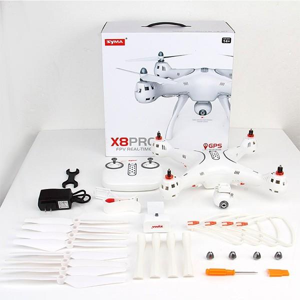 Квадрокоптер Syma X8PRO с GPS модул, безжична камера и автоматично връщане 7