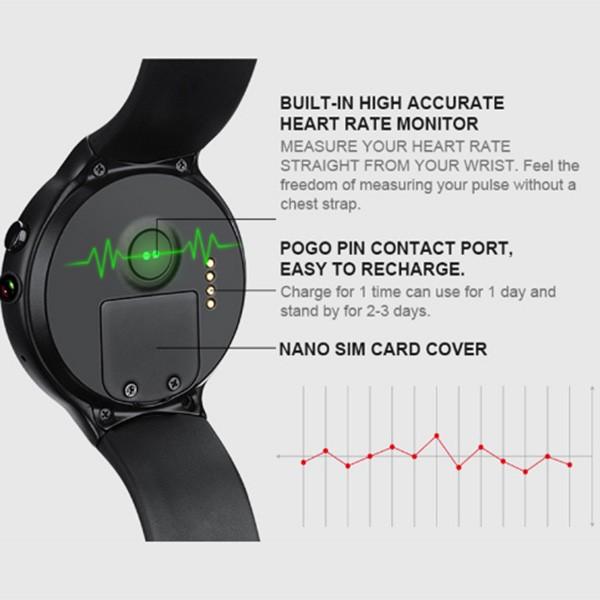 Смарт спортен часовник I4 AIR с камера GPS и измерване на сърдечния ритъм SMW25 2