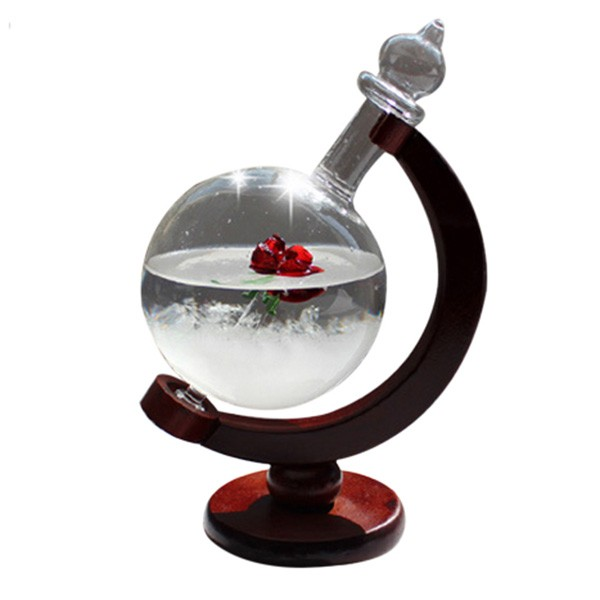 Красив глобус с кристали които предсказват времето TQY1 2