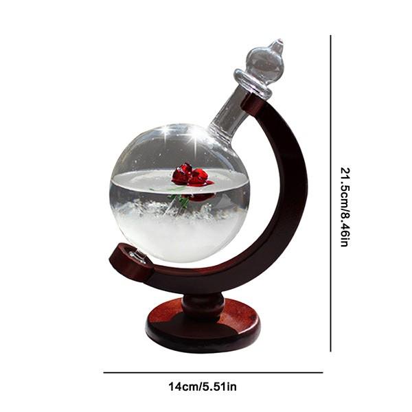 Красив глобус с кристали които предсказват времето TQY1 4