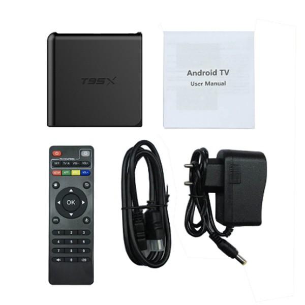 Смарт ТВ Бокс Memobox T95X с ОС Android за филми с Ultra HD качество, HDMI и USB 5