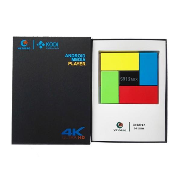 Smart TV Box T95K за Android 7.1 с 8 ядрен процесор, WI FI, Bluetooth, 16 GB RAM 6
