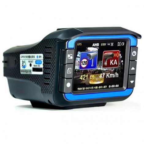Видеорегистратор 2 в 1 с радар за скорост AC53