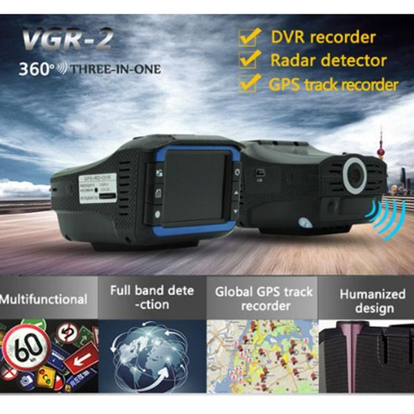 Видеорегистратор 2 в 1 с радар за скорост AC53 3