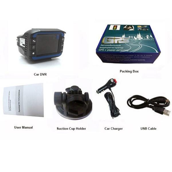 Видеорегистратор 2 в 1 с радар за скорост AC53 6