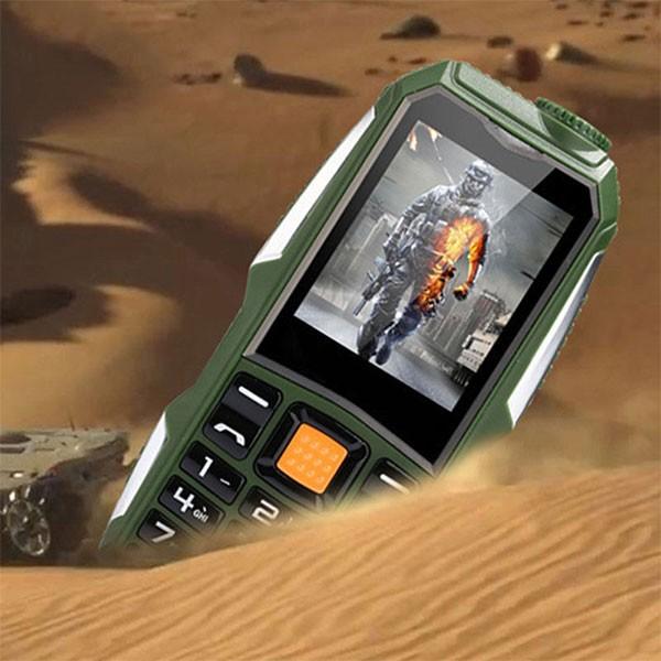 Водоустойчив и противоударен телефон F88 с 2 сим карти, 5MPX камера, голям обхват 2
