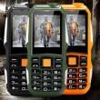 Водоустойчив и противоударен телефон F88 с 2 сим карти, 5MPX камера, голям обхват 3