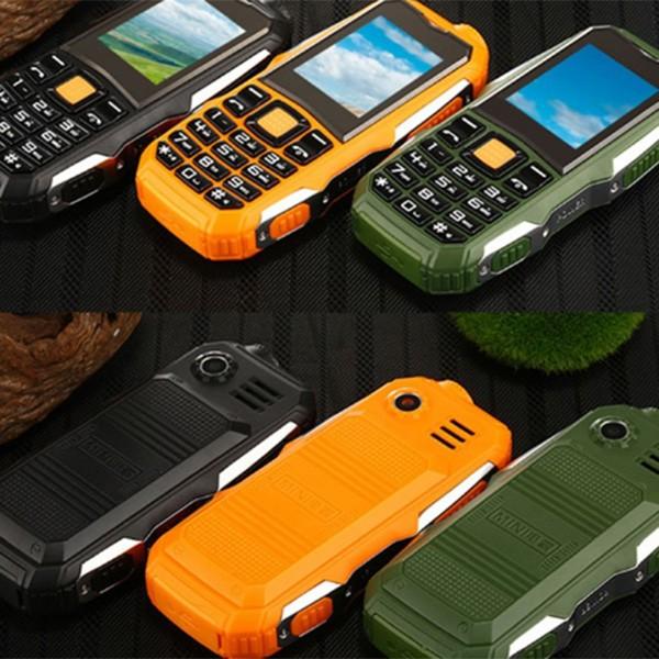 Водоустойчив и противоударен телефон F88 с 2 сим карти, 5MPX камера, голям обхват 6