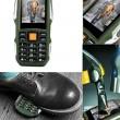 Водоустойчив и противоударен телефон F88 с 2 сим карти, 5MPX камера, голям обхват 7