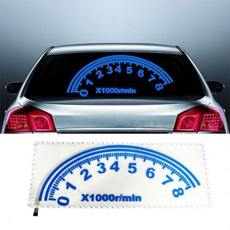 LED стикер за кола със сини диоди CT92