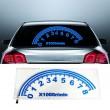 LED стикер за кола със сини диоди CT92 7