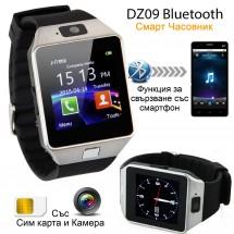 Смарт Часовник-телефон с камера и сим карта. Оригинален продукт dz09 на Български