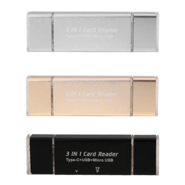 Удобен четец за устройства с USB-портове SD и micro SD карти CA96 3