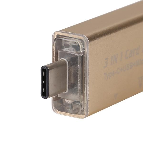 Удобен четец за устройства с USB-портове SD и micro SD карти CA96 6