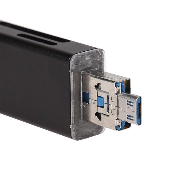 Удобен четец за устройства с USB-портове SD и micro SD карти CA96 7
