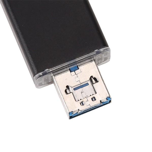 Удобен четец за устройства с USB-портове SD и micro SD карти CA96 8