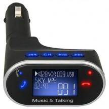 Радио предавател за кола с хендс - фрий функции Bluetooth, USB 2.0 630C HF13