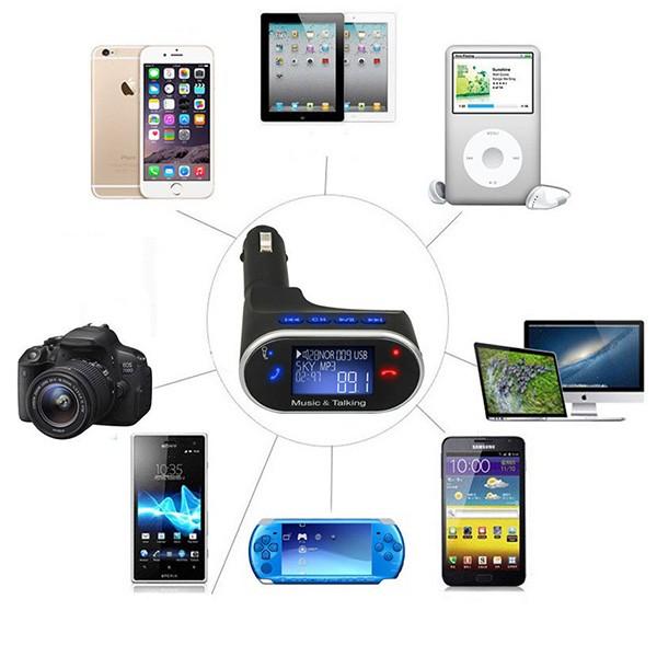 Радио предавател за кола с хендс - фрий функции Bluetooth, USB 2.0 630C HF13 6