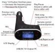 Радио предавател за кола с хендс - фрий функции Bluetooth, USB 2.0 630C HF13 7