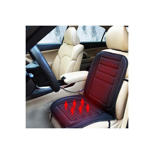 Подгряваща седалка за кола 12v подложка от 30 до 60 градуса Плюшена CAR SEAT TOP2