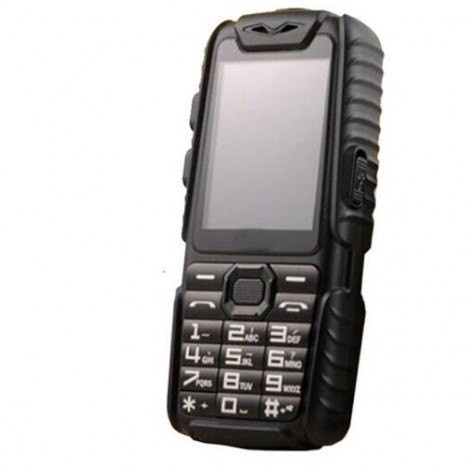 Водоустойчив и удароустойчив телефон A6 с Power Bank батерия, 2 SIM, Блутут