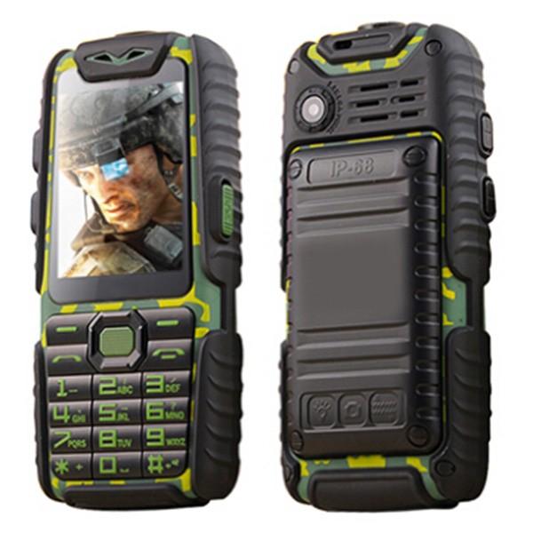 Водоустойчив и удароустойчив телефон A6 с Power Bank батерия, 2 SIM, Блутут 6