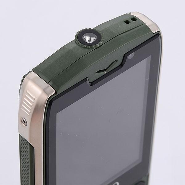 Прахоустойчив телефон за 4 сим карти Servo H8 с Bluetooth, Usb, камера 10