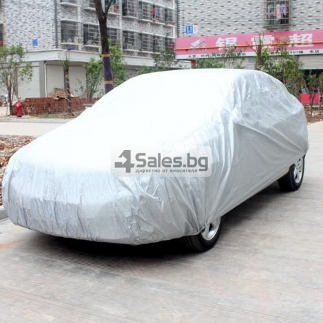 Покривало за кола от PEVA материал с голяма устойчивост на агресивни условия