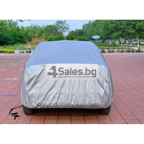 Покривало за кола от PEVA материал с голяма устойчивост на агресивни условия 3