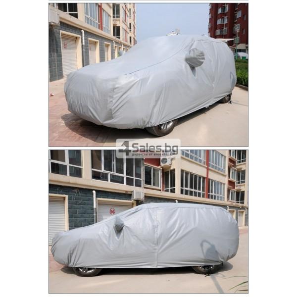 Покривало за кола от PEVA материал с голяма устойчивост на агресивни условия 6